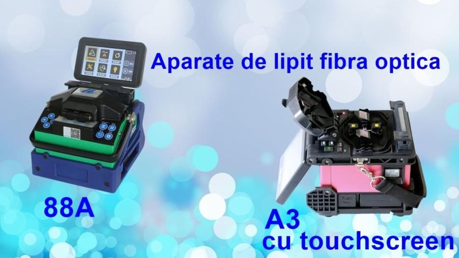 Aparate de lipit fibra optica
